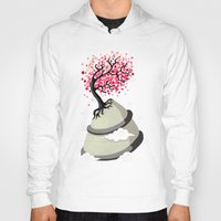 Hoody featuring Cherry Blossom by Freeminds