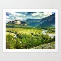 Banff Art Print