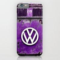 VW Retro Purple iPhone 6 Slim Case