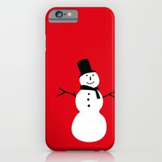 Christmas Snowman-Red Slim Case iPhone 6s