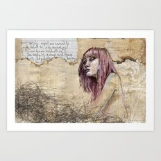 Indelicate Sensuality Art Print
