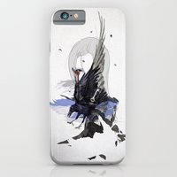 iPhone Cases featuring CROWS by SEVENTRAPS
