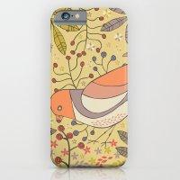 Wild Berry Garden Bird iPhone 6 Slim Case