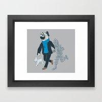 The Literal Adventures O… Framed Art Print