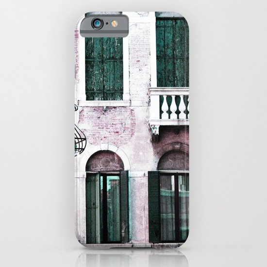 Green Shutters iPhone & iPod Case
