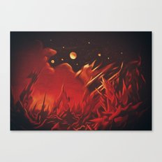 A View from Planet Hell Canvas Print