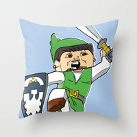 A link to the Block Throw Pillow