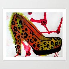 Chic Heel Art Print