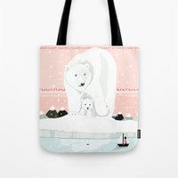 The White Bears and the Tin Soldier Tote Bag