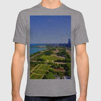 Grant Park Mens Fitted Tee Athletic Grey SMALL