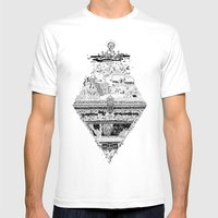 Olympe | Enfer Mens Fitted Tee White SMALL