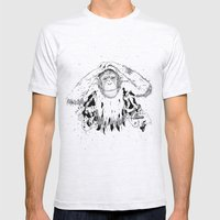 In The Shadow Of Man Mens Fitted Tee Ash Grey SMALL