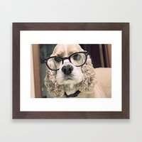 Louie Framed Art Print