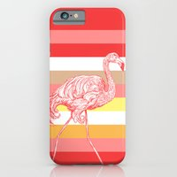 iPhone & iPod Case featuring flamingo by Eileen Paulino