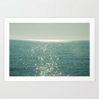 Pure magic of the sea Art Print