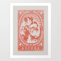 Goffer Art Print