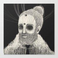 HOLLOWED MAN Canvas Print