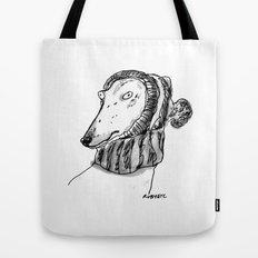 winter greyhound Tote Bag