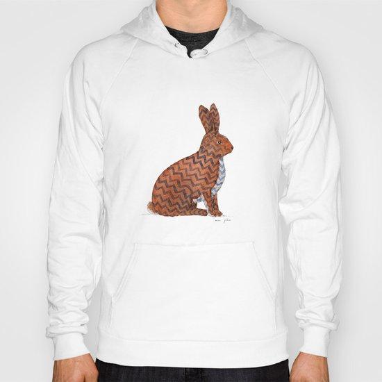 zig zag rabbit Hoody
