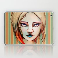 Pale Girl Laptop & iPad Skin