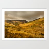 Moorland Views Art Print