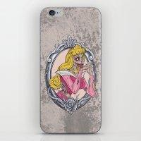 Zombie Sleeping Beauty iPhone & iPod Skin