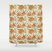 Bird pattern Shower Curtain