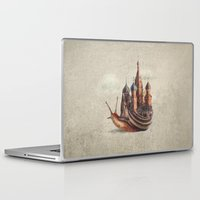 movie Laptop & iPad Skins featuring The Snail's Daydream by Eric Fan