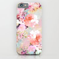 floral iPhone & iPod Cases featuring Love of a Flower by Girly Trend