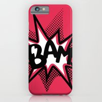 iPhone & iPod Case featuring BAM! by Thomas Ramey