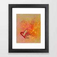Kristin's Valentine Framed Art Print