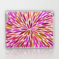 Laptop & iPad Skin featuring Pink Watercolor Burst by Cat Coquillette