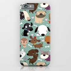 Dog pattern iPhone 6 Slim Case