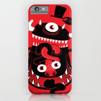 iPhone & iPod Case featuring Mister Monster by Marco Angeles