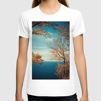 The View From The Top Womens Fitted Tee White SMALL