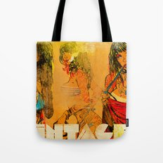 Vintage 76 ( 3 wenches) Tote Bag