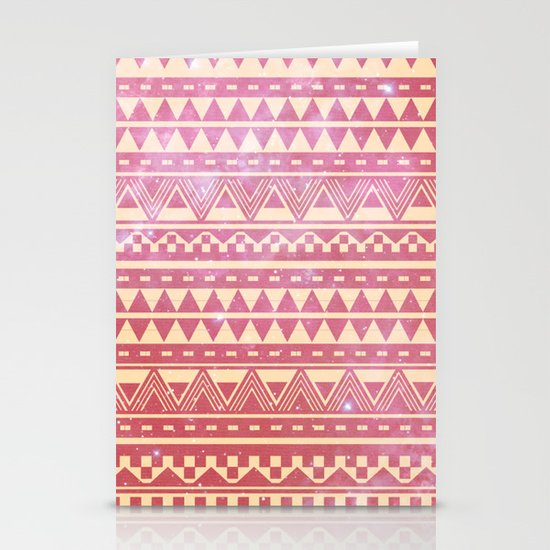 Crystalised Stationery Card
