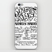 Diagon Alley Farmers' Market iPhone & iPod Skin