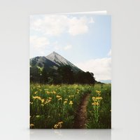 My Mountain Stationery Cards