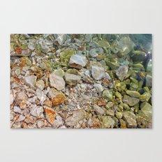 Glittering Canvas Print
