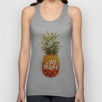 All Right. (Tropical) Unisex Tank Top