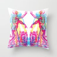 Andreae Vesalii 1 Throw Pillow