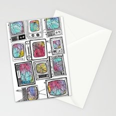 colour tv Stationery Cards