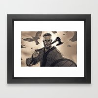 Ragnar Lothbrook Framed Art Print