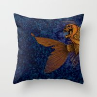 All that glitters... //color// Throw Pillow