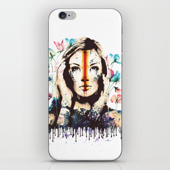 Drips of color iPhone & iPod Skin