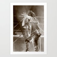 Rob Zombie II Art Print