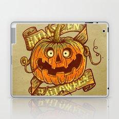 Halloween dark khaki Laptop & iPad Skin