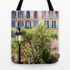 Spring time in Barcelona Tote Bag