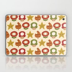 mario items pattern Laptop & iPad Skin